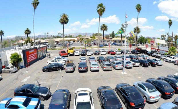 San Fernando Valley Automotive Lot Hero Photo – Paley Commercial Real Estate