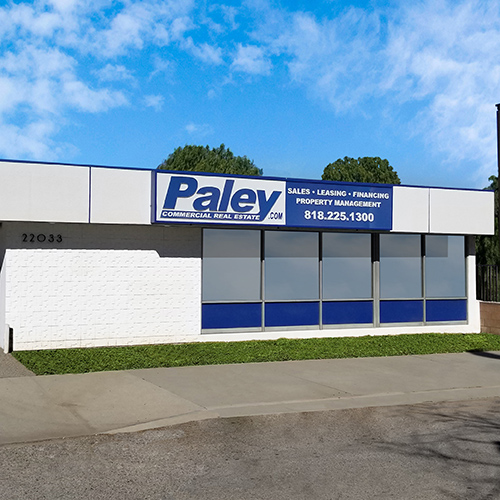 Paley Commercial Real Estate Exterior Office Shot