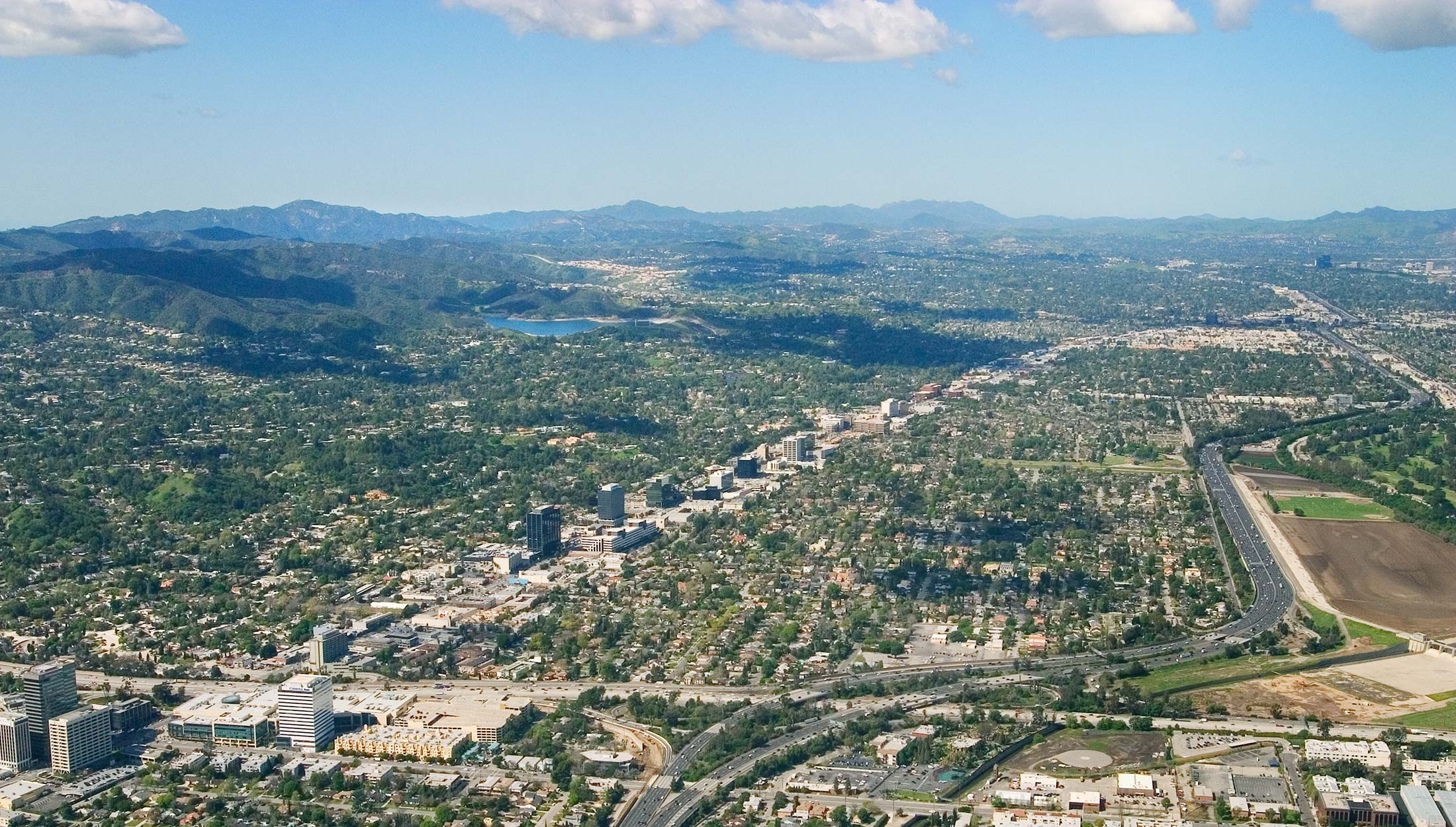 Aerial Photo of the San Fernando Valley - Paley Commercial Real Estate